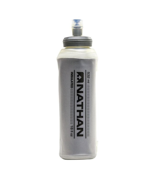Nathan Sports Insulated 18 oz. Soft Flask with Bite Top