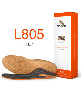 Aetrex L805 Men's Train Orthotic with Metatarsal Support