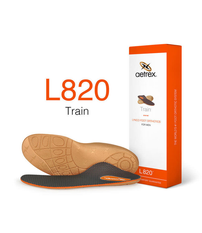 Aetrex L820 Men's Train Orthotic with Posting