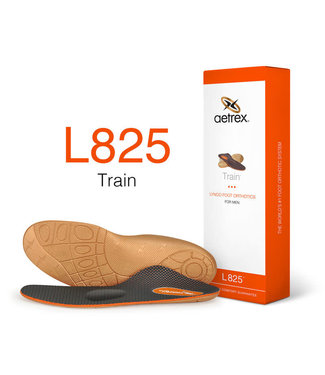 Aetrex L825 Men's Train Orthotic with Metatarsal Support and Posting
