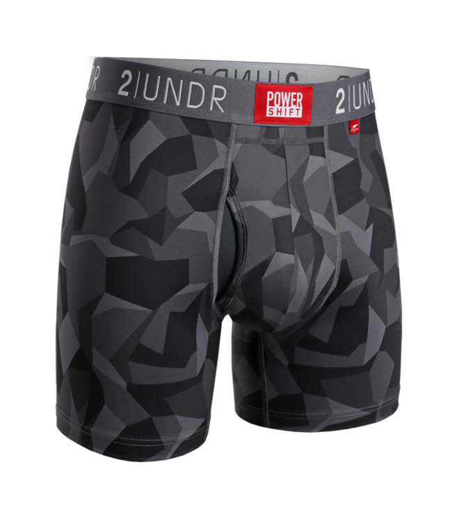 2UNDR Power Shift Boxer Brief - Print
