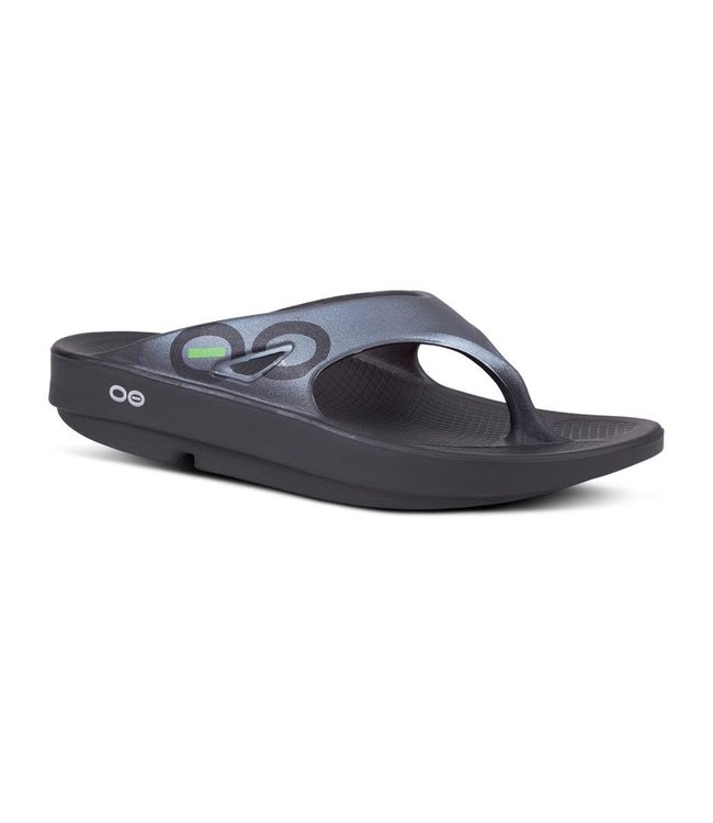 Oofos Men's OOriginal Sport Sandal (thong) - Graphite