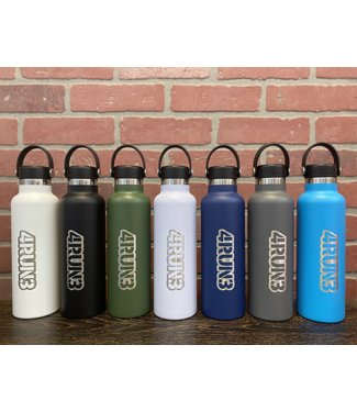 Hydroflask 21 oz Standard Mouth - 4RUN3 Engraved