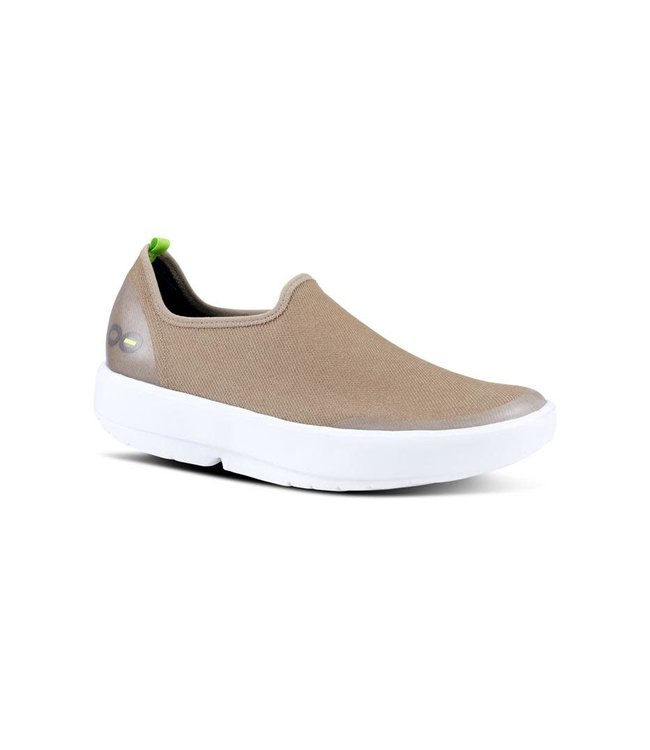 Oofos Women's OOmg eeZee Canvas Low Shoe