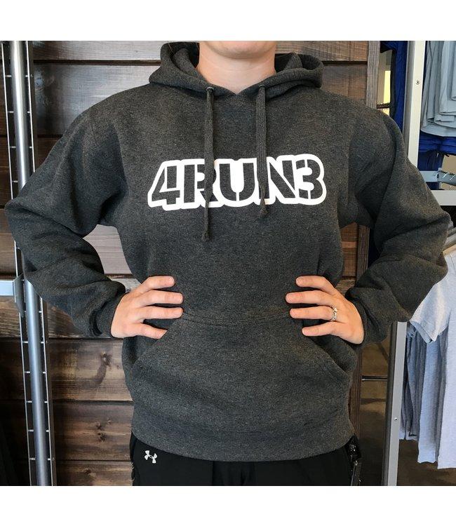 4RUN3 4RUN3 Hoodie - Charcoal