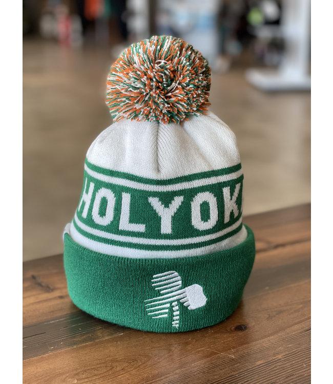 Headsweats Holyoke St. Patrick's Road Race Knit Beanie w/ Pom Pom