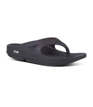 Oofos Men's OOriginal Sandal (thong) - Black