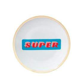 """BITOSSI Bitossi Coup Flat Plate """"Super"""""""