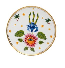 BITOSSI Bitossi Side Plate, Flower and Eye