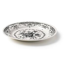 BITOSSI Bitossi Dinner Plate, Black Rose
