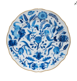 BITOSSI Bitossi Dinner Plate, All Over Blue