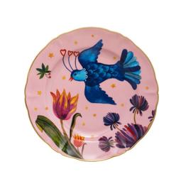 BITOSSI Bitossi Fruit Plate, Pink Little Bird