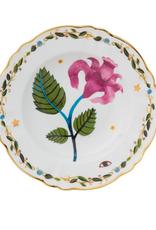 BITOSSI Bitossi Deep Plate Pink Flower