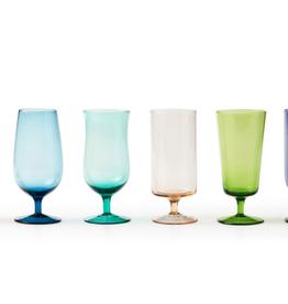 BITOSSI Bitossi Rainbow Beer Glasses, Set of 6