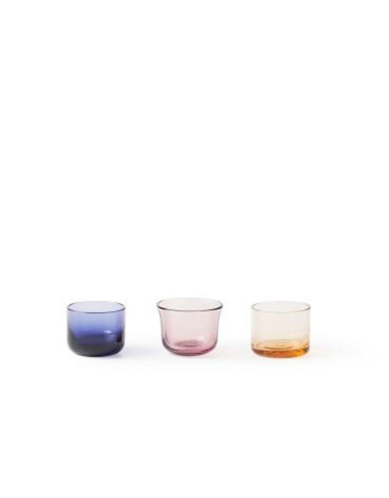 BITOSSI Bitossi Set of 3 Tea Light -Purp Rose Violet