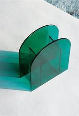 &Klevering &Klevering  Vase arch dark green