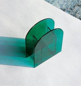 &Klevering &Klevering  Dark Green Arch Vase