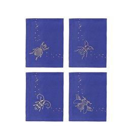 &Klevering &Klevering Midnight Beetle Napkins