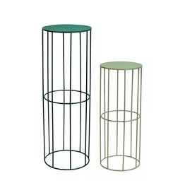 &Klevering &klevering Pale Green Plant Stand, Low