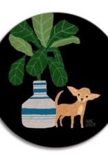 Avenida Dogs Chihuahua Coaster