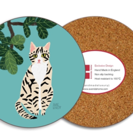 Avenida Home Savannah Cat Coaster