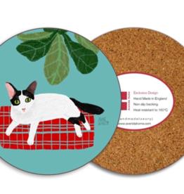 Oreo Cat Coaster
