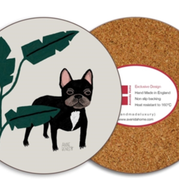 Avenida Home French Bulldog Coaster