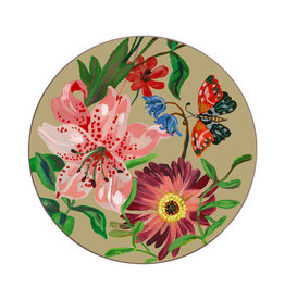 Avenida Home Garland Clay Coaster