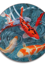 Avenida Pond of Koi Coaster
