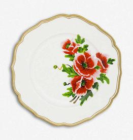 BITOSSI Bitossi Dinner Plate, Fiore Francese