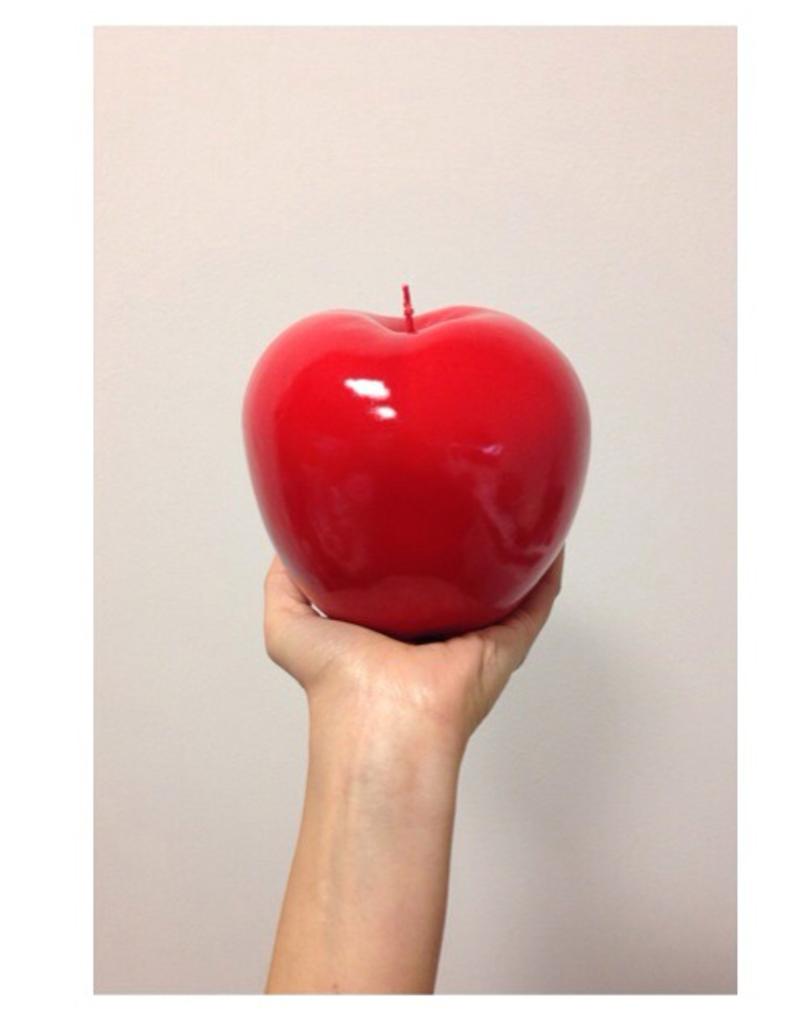 BITOSSI Bitossi Apple Candle Red