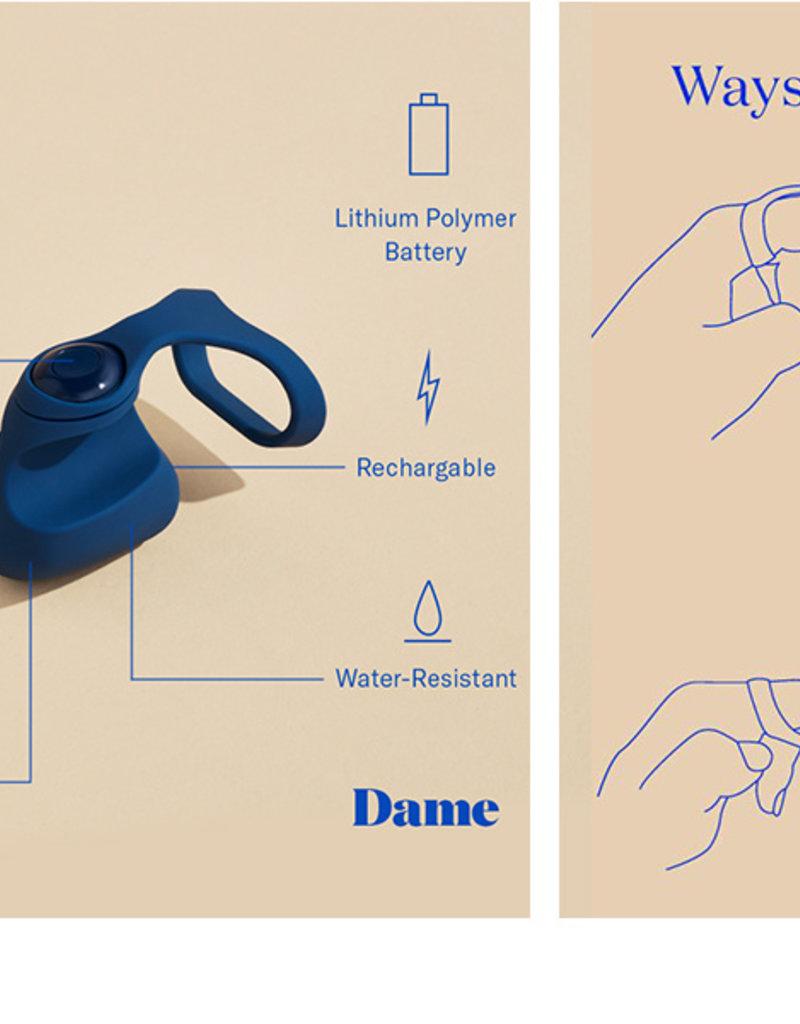 Dame Dame Fin - Navy