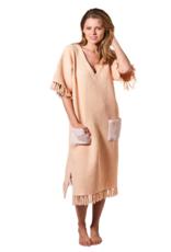 Kip&Co Kip&Co LYCHEE WAFFLE BEACH DRESS -Small