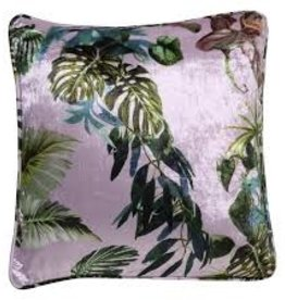 Kip&Co Kip & Co Lilac Foliage Velvet Cushion