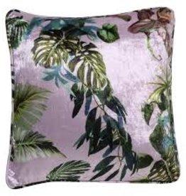 Kip&Co Kip & Co Lilac Foliage Velvet Cushion