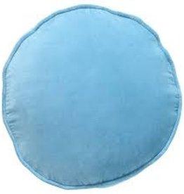 Kip&Co Kip & Co Aquamarine Blue Velvet Pea Cushion