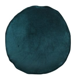 Kip&Co Kip & Co Alpine Teal Velvet Pea Cushion