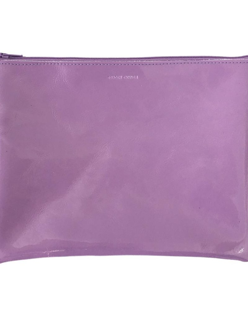 Tracey Tanner Tracey Tanner Patent Zip Large - Lilac