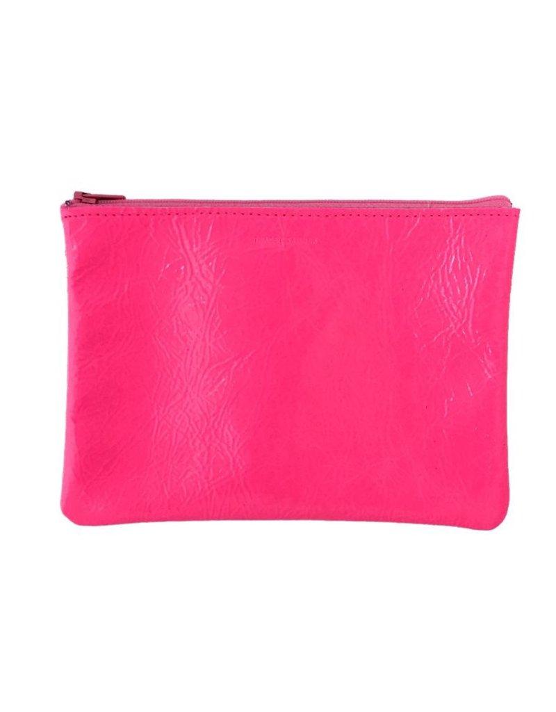 Tracey Tanner Tracey Tanner Fluoro Zip Medium - Fluoro Pink