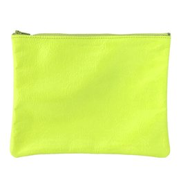 Tracey Tanner Tracey Tanner Large Fluoro Zip, Fluoro Yellow