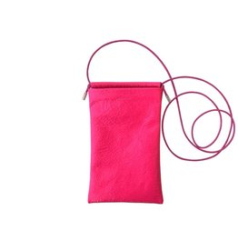 Tracey Tanner Tracey Tanner Tia Crossbody Phone Pouch, Fluoro Pink