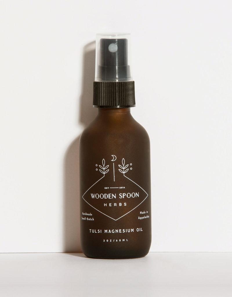 Wooden Spoon Herbs Wooden Spoon Tulsi Magnesium Oil