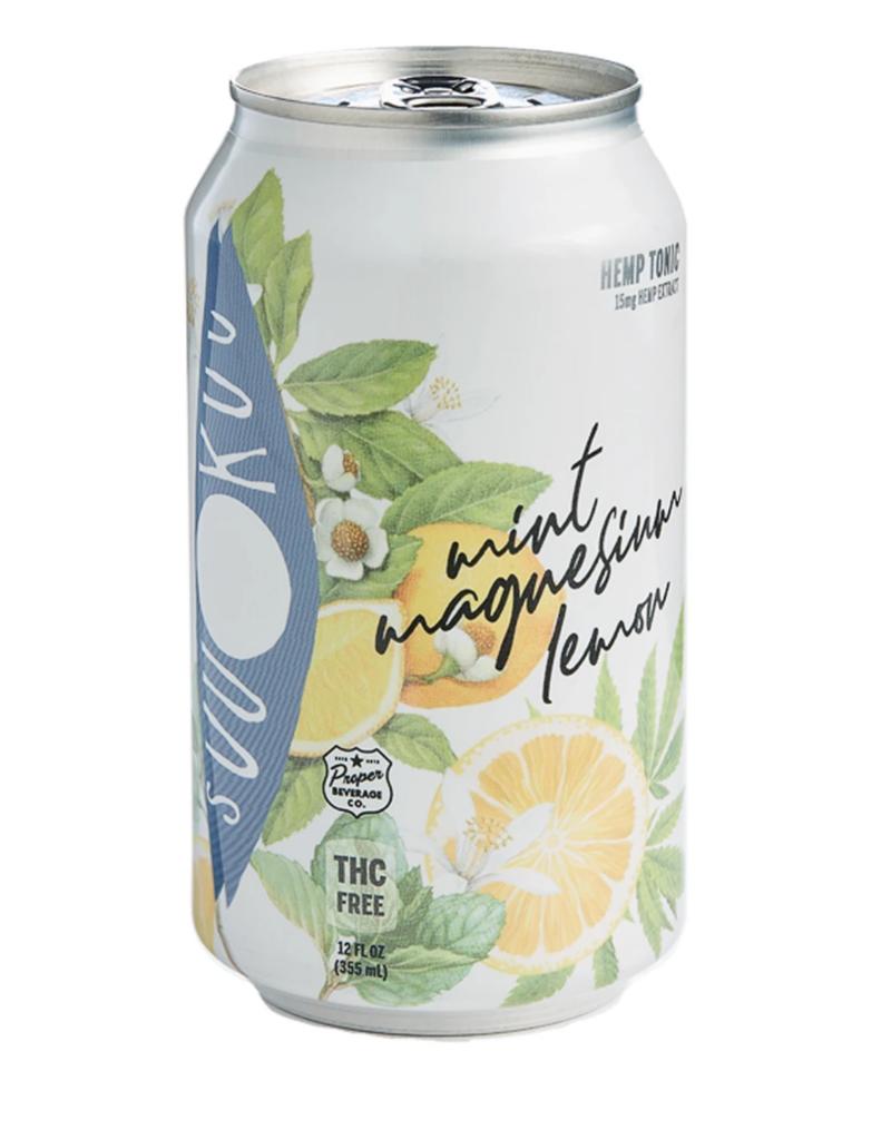 SUU KUU Suu Kuu Mint Magnesium Lemon Tonic