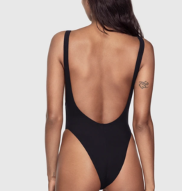 Kiki de Montparnasse Kiki de Montparnasse Swim Plunge Back One-Piece, X-Small