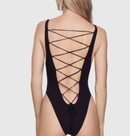 Kiki de Montparnasse Kiki de Montparnasse Swim Tied Up One-Piece, Large
