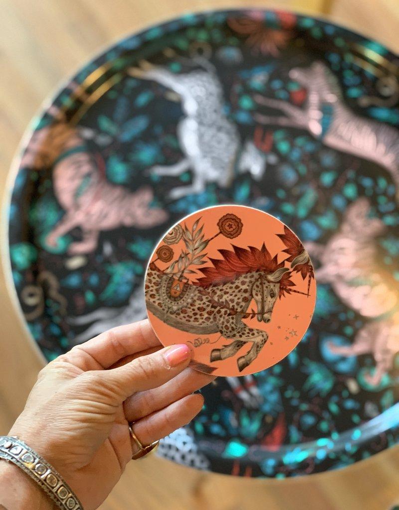 Emma J. Shipley Emma J Shipley Coaster 10cm Caspian Coral