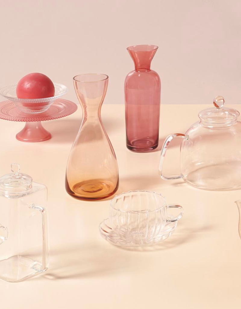 BITOSSI Bitossi Pink-Purple Bottle & Vase