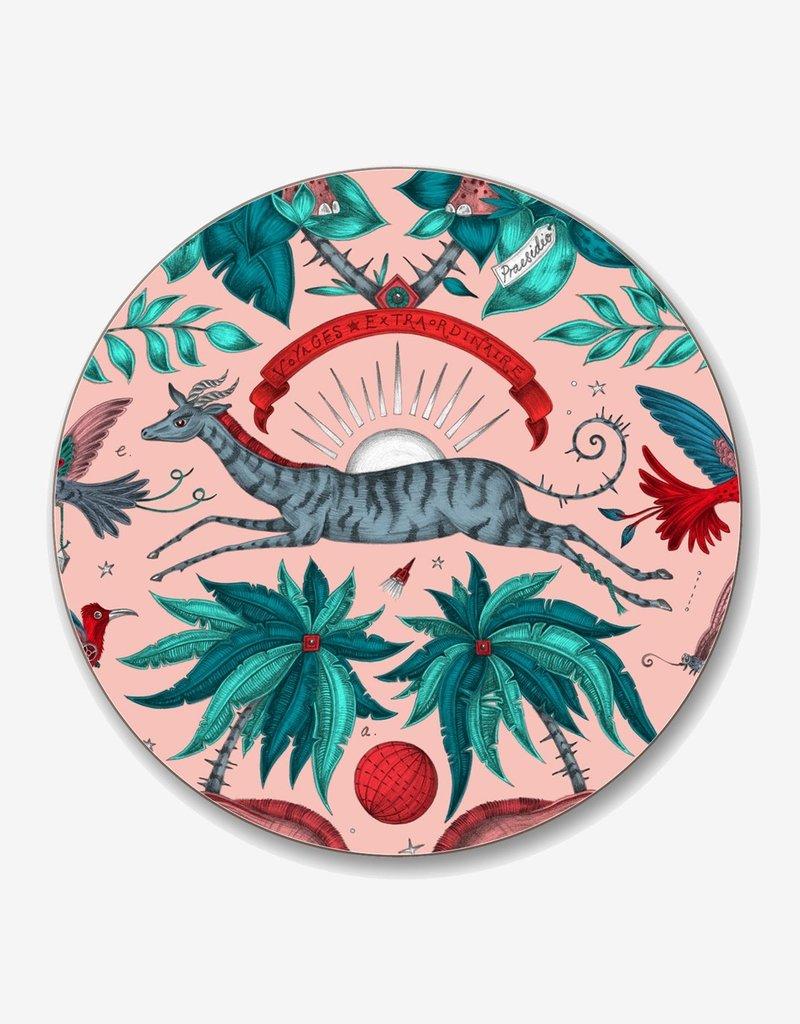 Emma J. Shipley Emma J Shipley Zambezi Pink Coaster