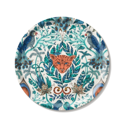 Emma J. Shipley Emma J Shipley Amazon Blue Large Round Tray