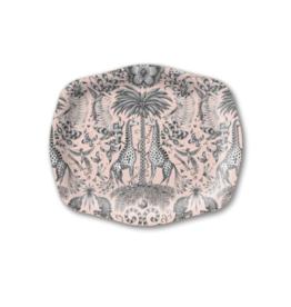 Emma J Shipley Kruger Pink Arched Tray